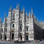 готический храм в Милане
