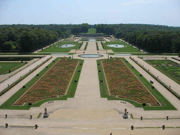 садово-парковая архитектура Франции