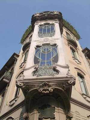 архитектурные стили: атр-нуво