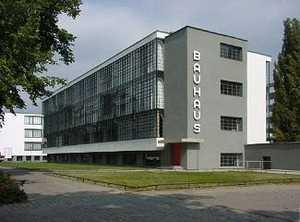 архитектурные стили модернизма: баухаус