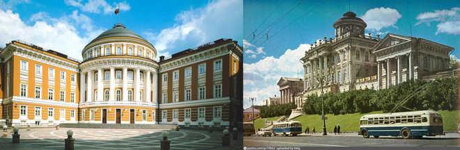 пример золотого сечения работ русских архитекторов