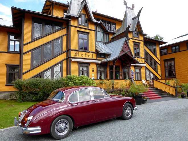 Пример Северного Модерна в архитектуре Норвегии