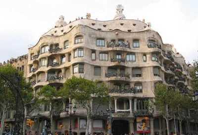 Модерн в архитектуре. Гауди. Испания