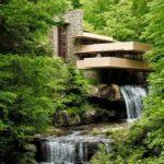 Органическая архитектура: дом над водопадом