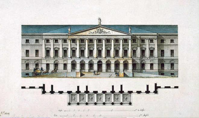 Шедевры классицизма в архитектуре