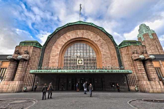 Пример Северного Модерна в архитектуре Финляндии