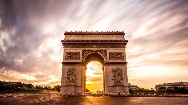 Ампир в архитектуре: Триумфальная арка
