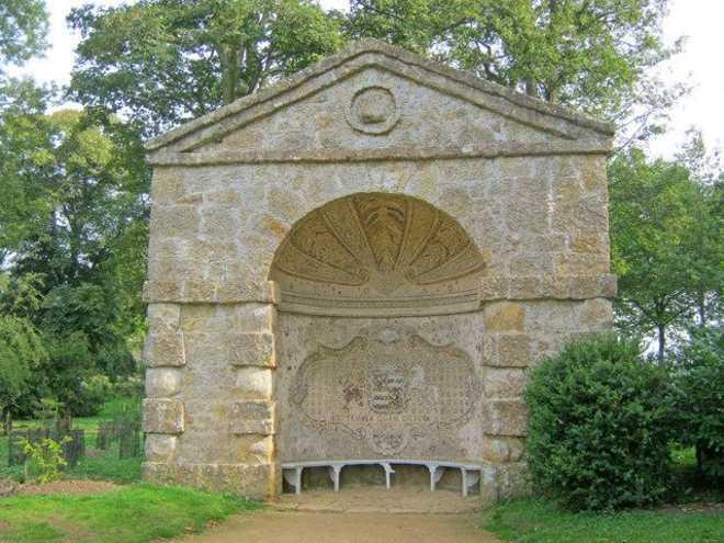 Ландшафтная архитектрура в Англии