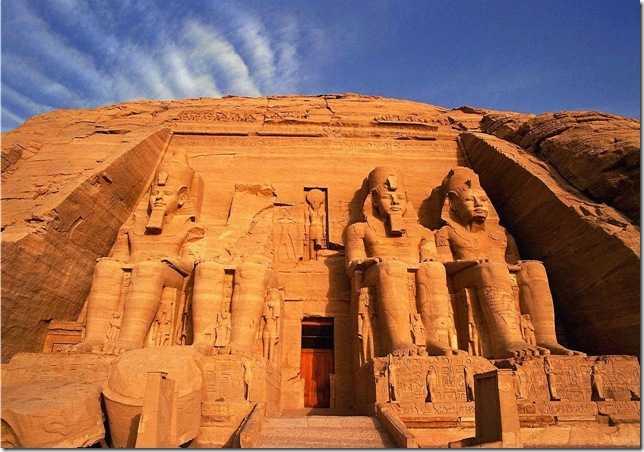 Архитектура Древнего Египта: храм Абу Симбел
