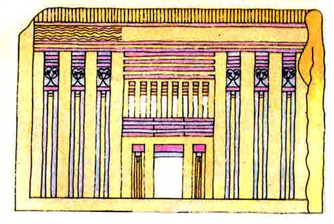Архитектура Древнего Египта: конструкция дворца