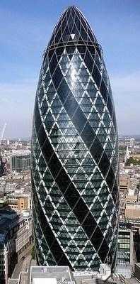 Органический небоскрёб в Лондоне