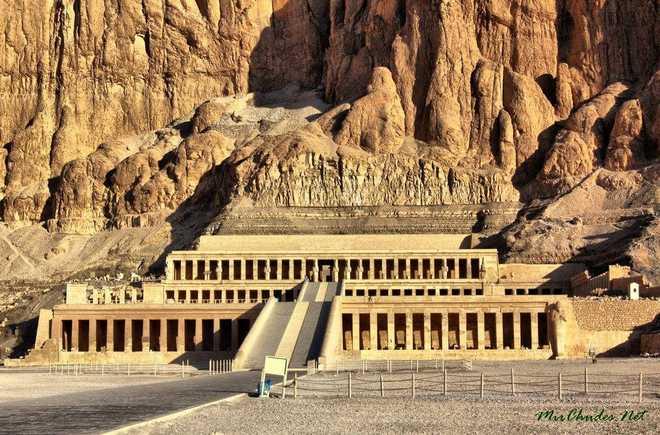 Архитектура Древнего Египта: храм Хатшепсут