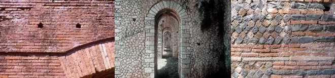 Кладка архитектуры Древнего Рима