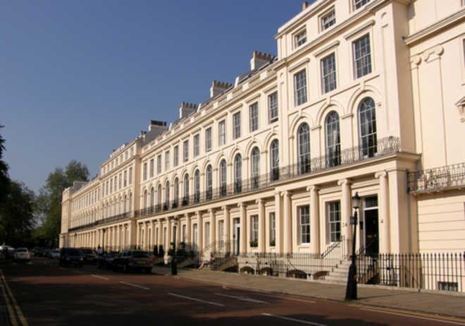 Классицизм в архитектуре Англии. Рядная застройка