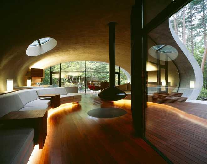 Органическая архитектура вилла