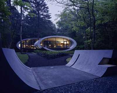 Органическая архитектура в Японии