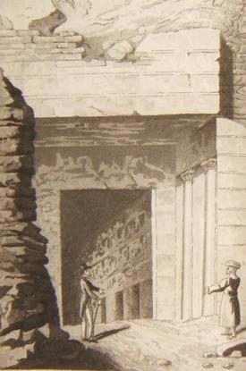Долина царей: вход в царскую гробницу