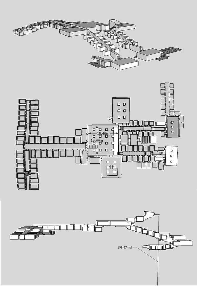 Гробница сыновей Рамзеса 2 в Долине Царей в Египте