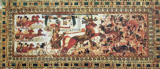 Долина царей в Египте: Гробница Тутанхамона