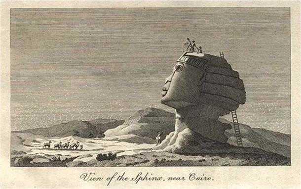 Набросок Виван Дюнона 1798 г.