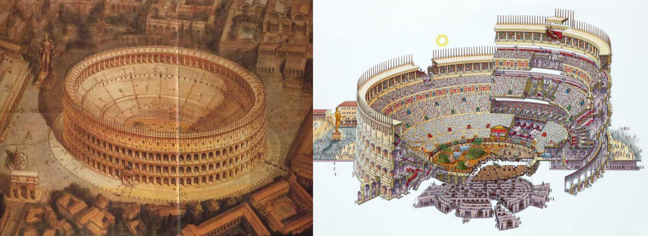 Колзей Рима: фото былого величия