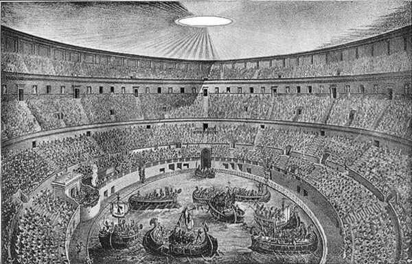 Колизей Рима: фото навмахии
