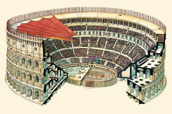 Колизей Рима: реконструкция