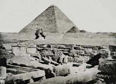 Большой Сфинкс Египта. Анри Бечард 1887