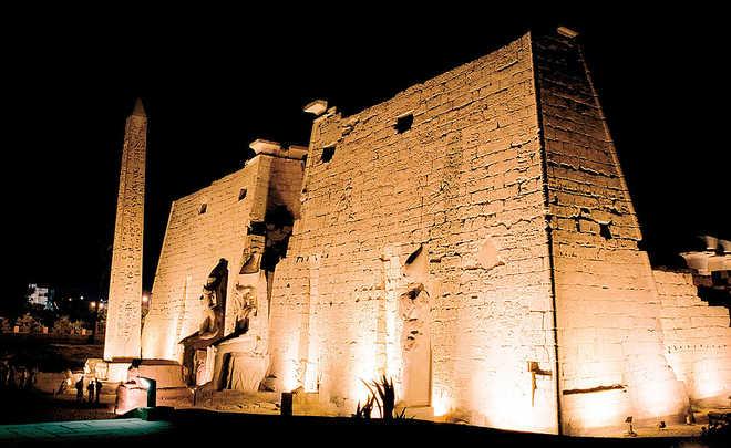 Луксор в Египте: фото Луксорского храма