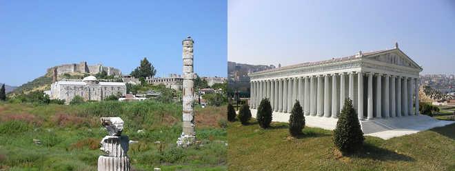 архитектура Древней Греции: храм Артемиды в Эфесе