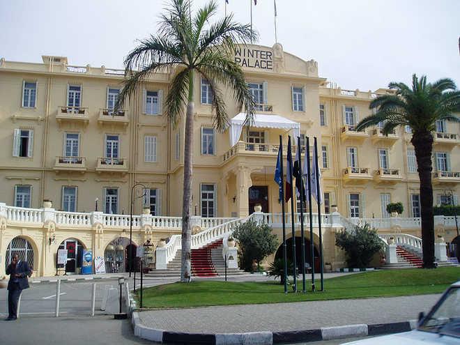Луксор в Египте: фото отеля Винтер Палас