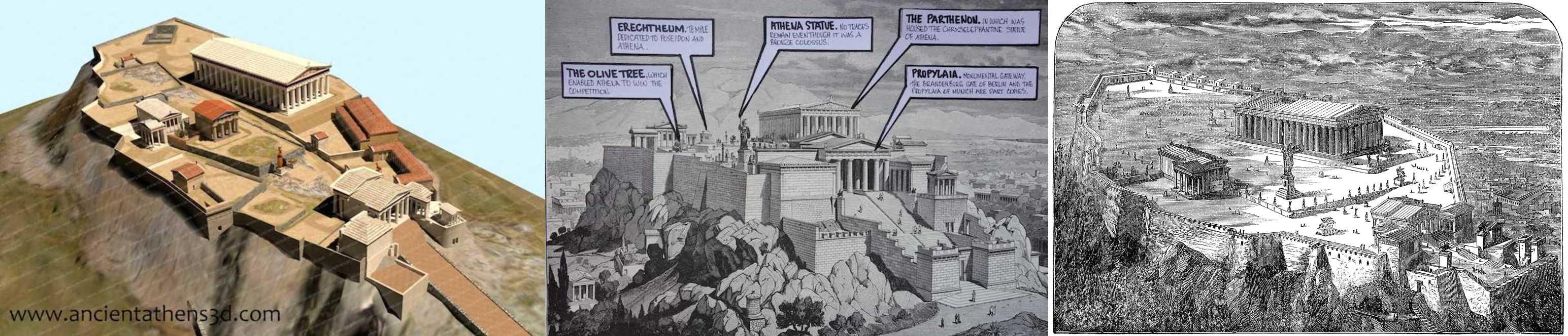 Архитектрура Древней Греции: коротко о главном. Афинский Акрополь