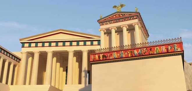 Реконструкция храма Ники
