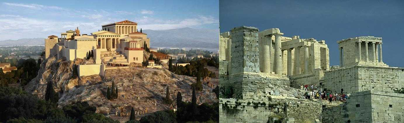 Архитектура Древней Греции: Афины