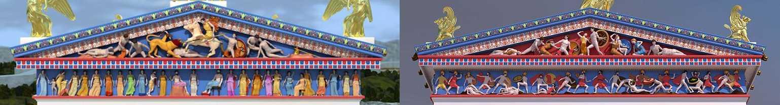 фриз храма Ники
