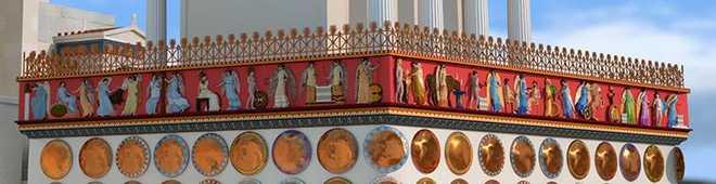 Древнегреческая архитектура: Фриз храма Ники