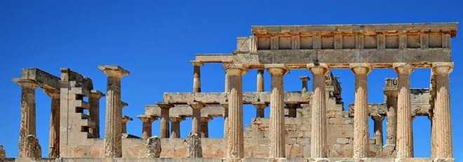 Греческая архитектура: Храм Афайи, о. Эгина