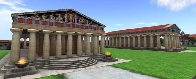 Греческая архитектура: Дорический ордер