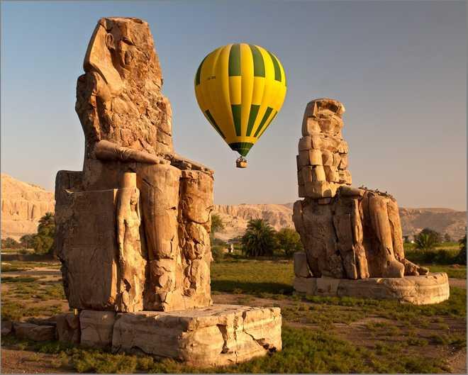 Луксор в Египте: фото колоссов Мемнона
