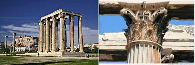 Архитектура Древней Греции кратко : Олимпийский храм Зевса
