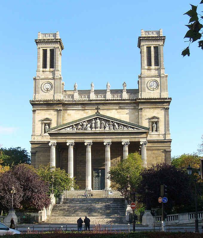 эклектическая архитектура: Сент-Винсент-де-Поль