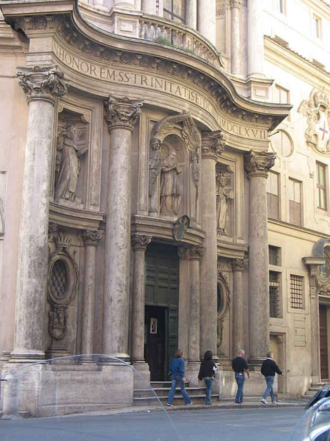 стиль барокко в архитектуре. Арх. Бормини Церковь Св.Карла