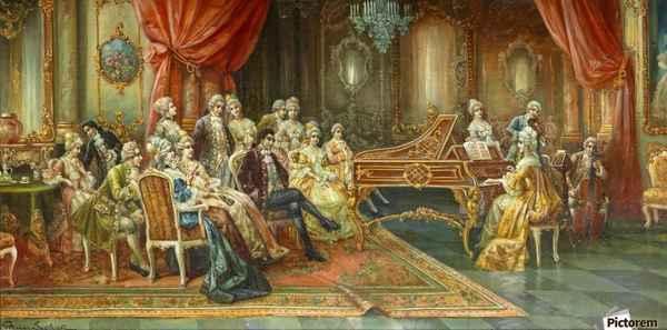 Рококо в архитектуре: дом аристократа 18 века