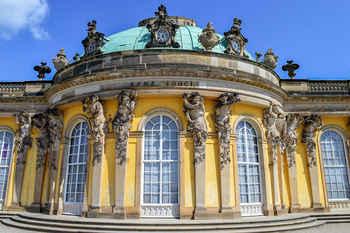 Рококо в архитектуре Германии. Сан суси