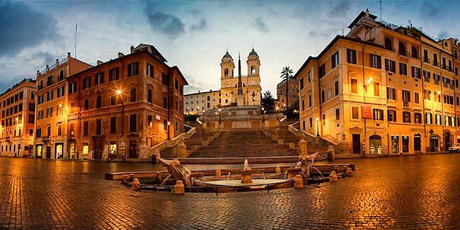 Рококо в архитектуре Италии