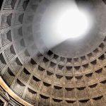 Окулус ротонды Пантеона в Риме