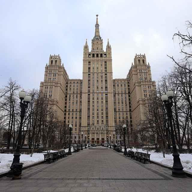 сталинский ампир: высотка