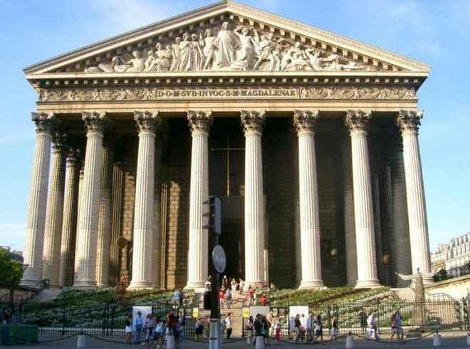 стиль ампир в архитектуре Парижа