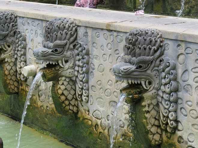 гогрульи в архитектуре фонтанов