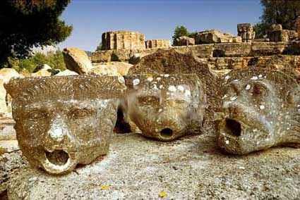 гаргульи в архитектуре Древней Греции